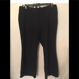 Black slacks by George size 18 great condition